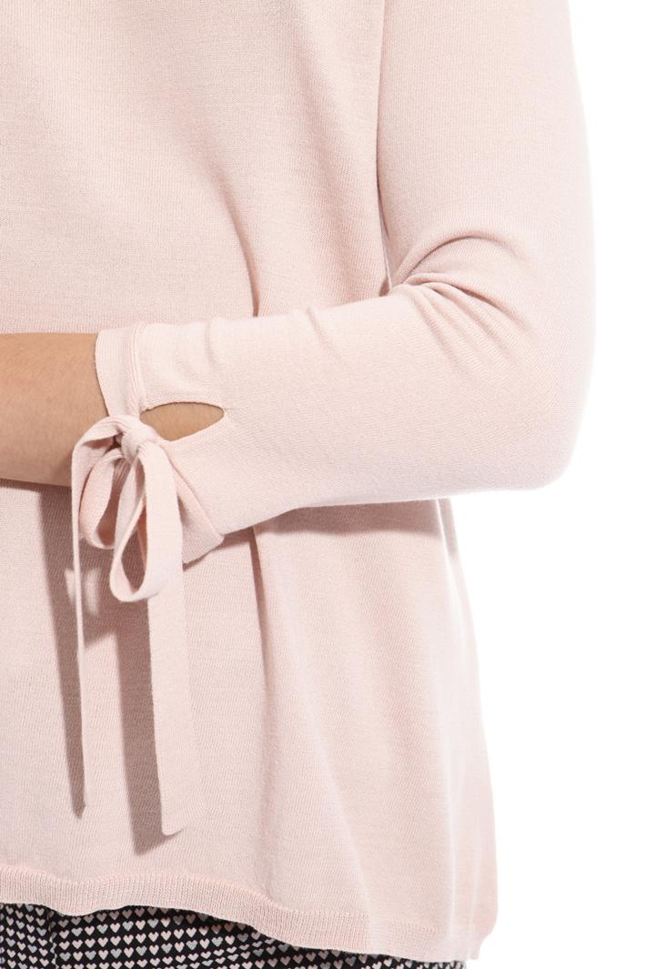 Maglia svasata con fiocchi Fashion Market
