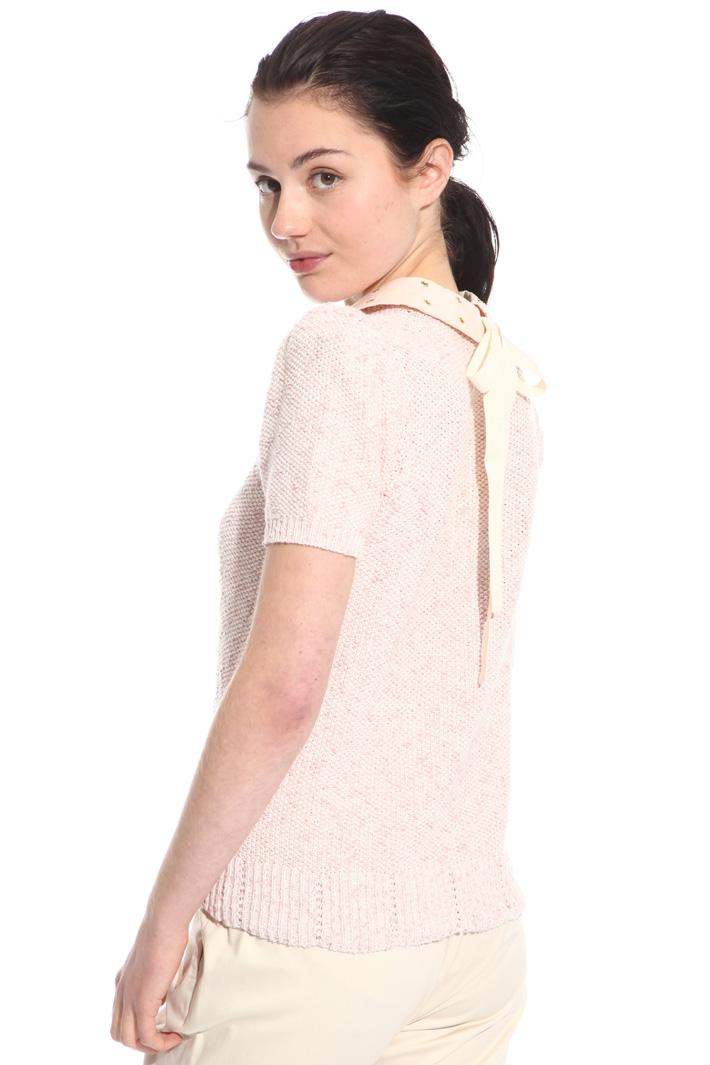 Maglia con colletto decoro Fashion Market