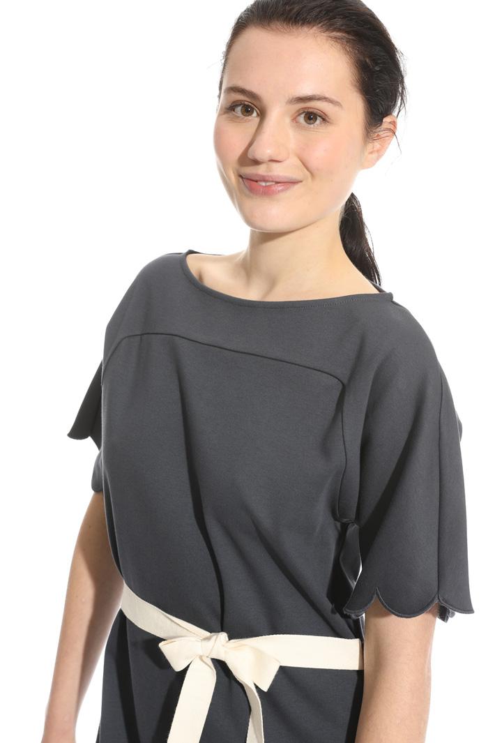 Abito svasato in jersey cotone Fashion Market