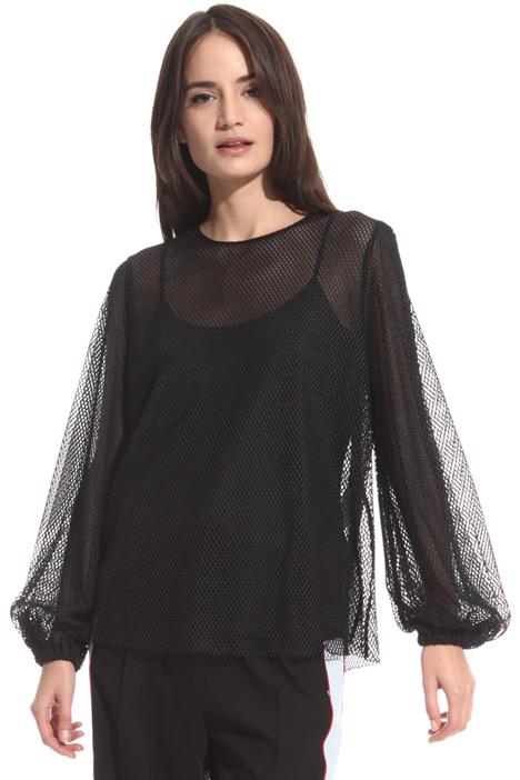 Blusa in tessuto a rete Fashion Market