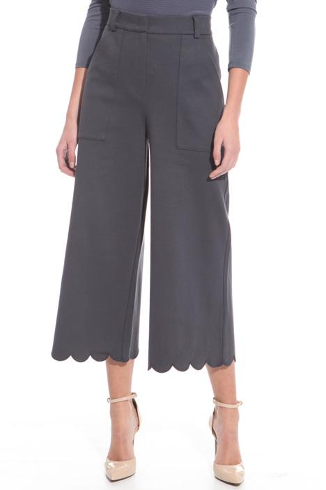 Pantalone con fondo smerlato Fashion Market