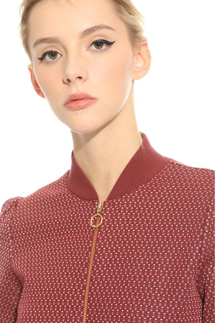 Bomber in jersey jacquard Fashion Market