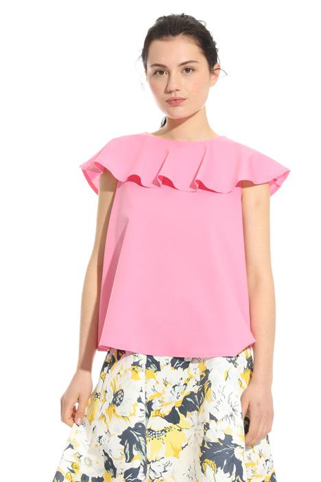 Top con maxi volant Fashion Market