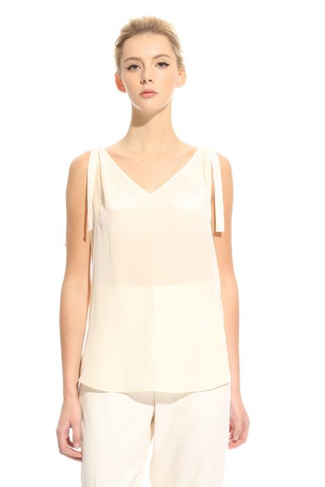 Top con nastri annodati Fashion Market
