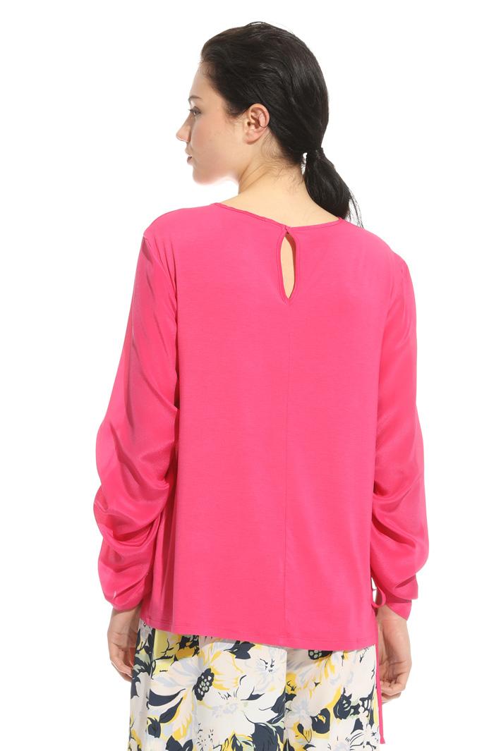 Blusa in mix di materiali Fashion Market