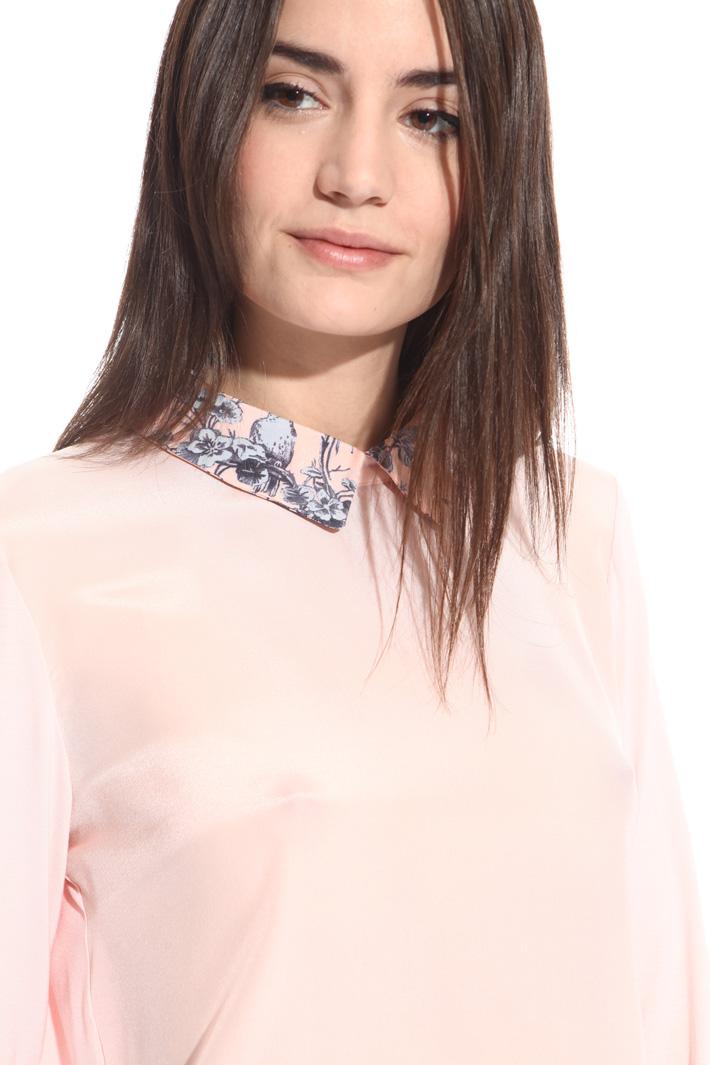 Blusa con colletto camicia Fashion Market