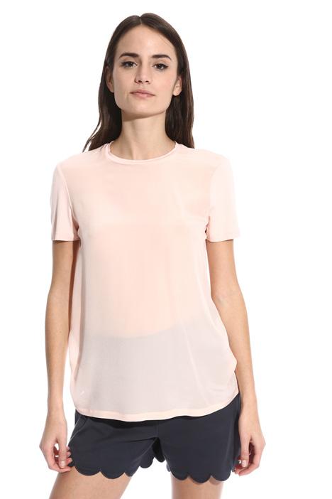 T-shirt con collo removibile Fashion Market