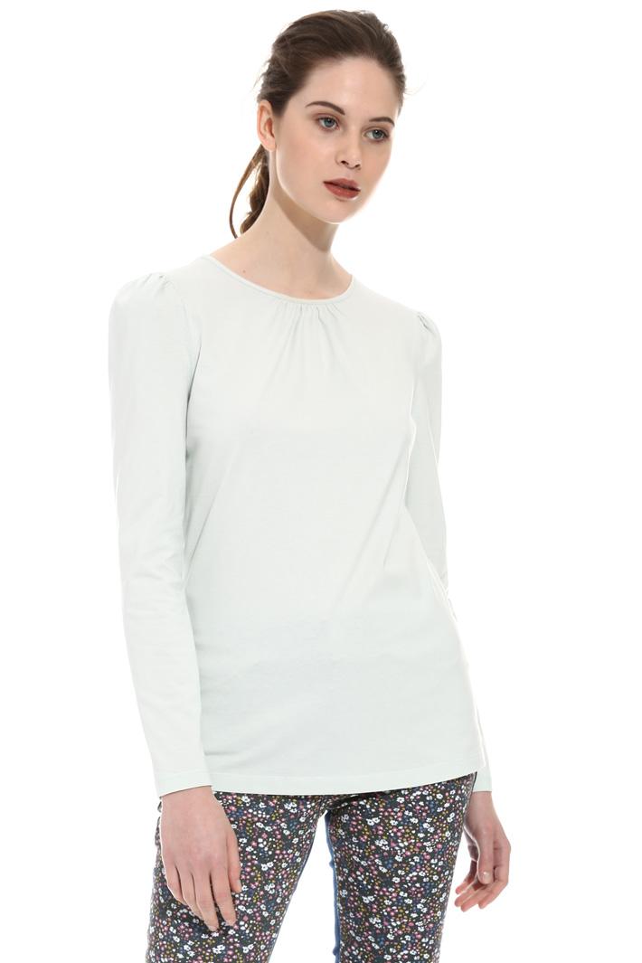 T-shirt con maniche a sbuffo Fashion Market