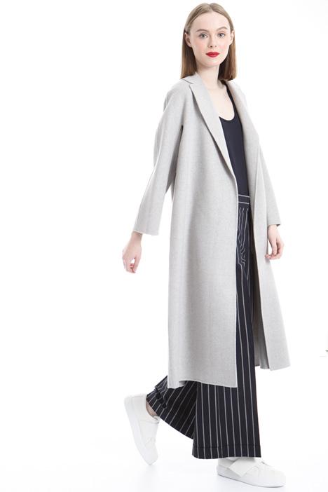 Cappotto con revers profondo Fashion Market