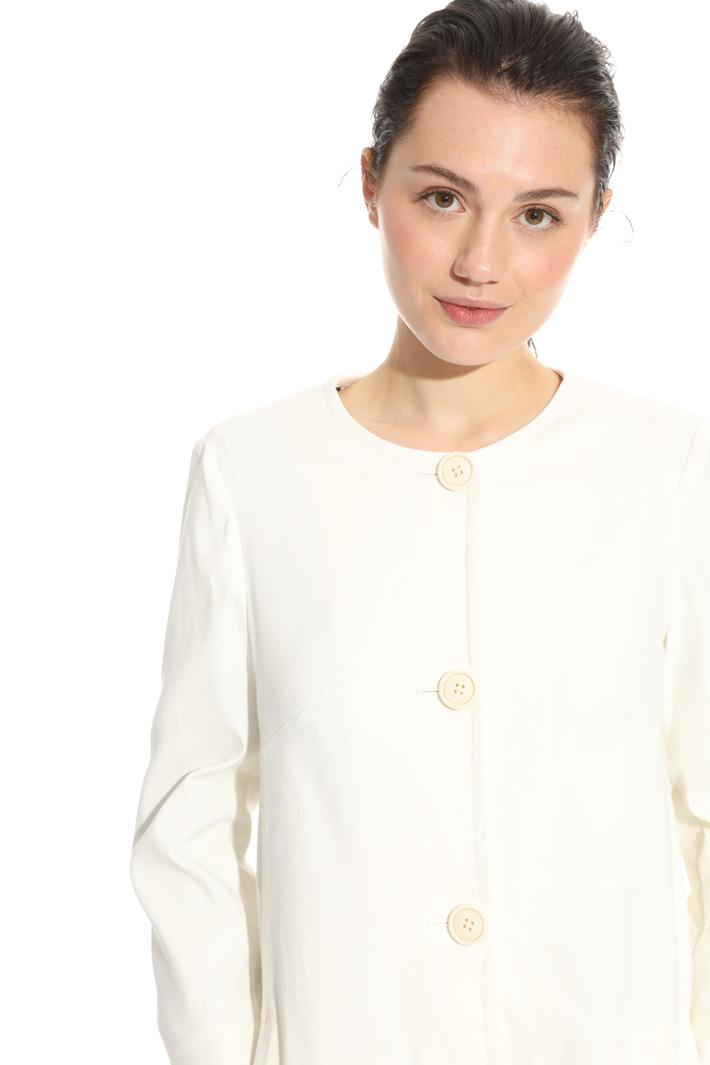 Soprabito in cotone lino Fashion Market