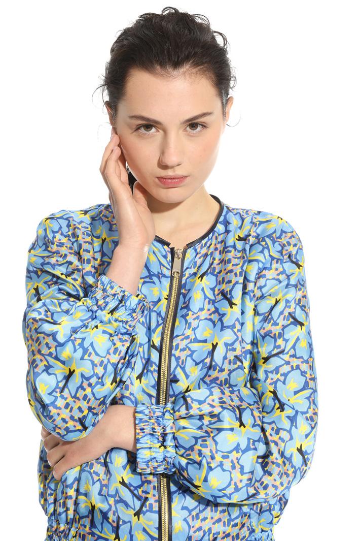 Bomber in twill stampato Fashion Market