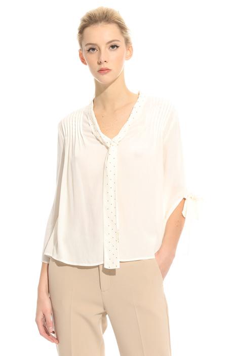 Blusa in crepe fluido Fashion Market