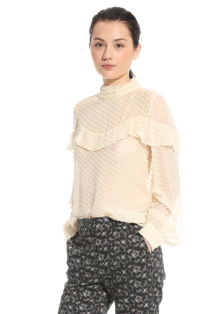 Blusa in fil coupè Fashion Market