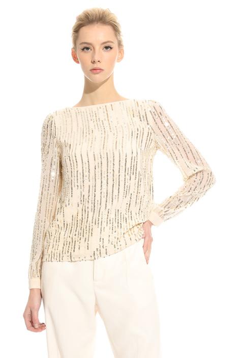 Top con paillettes Fashion Market