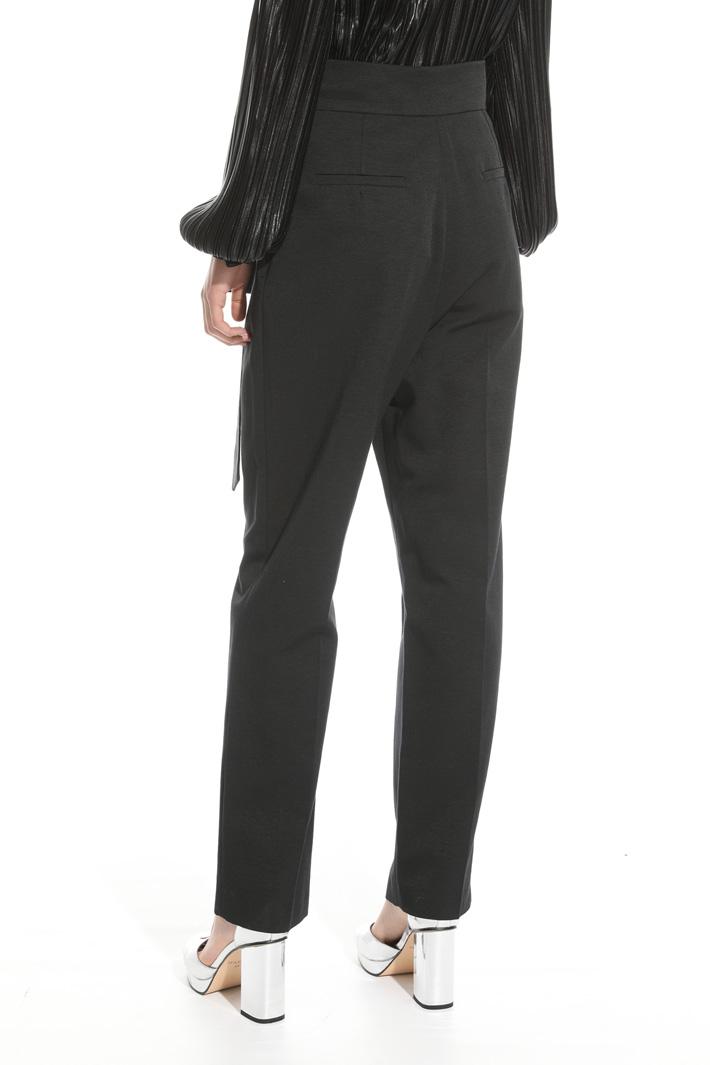 Pantalone con fiocco Fashion Market
