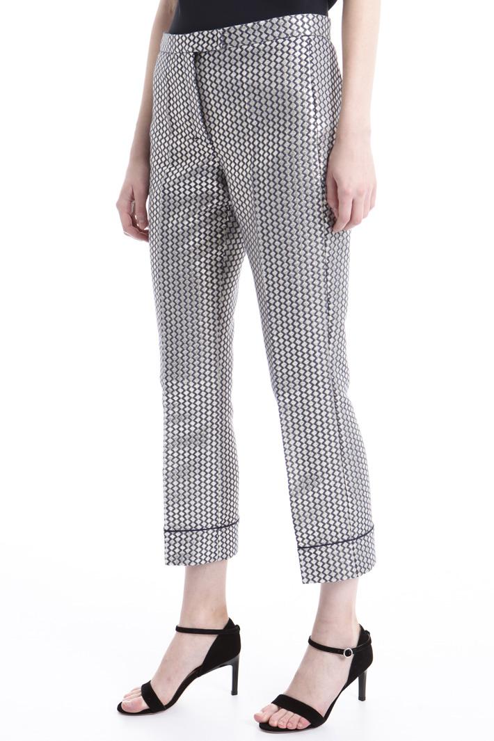 Pantalone jacquard Fashion Market