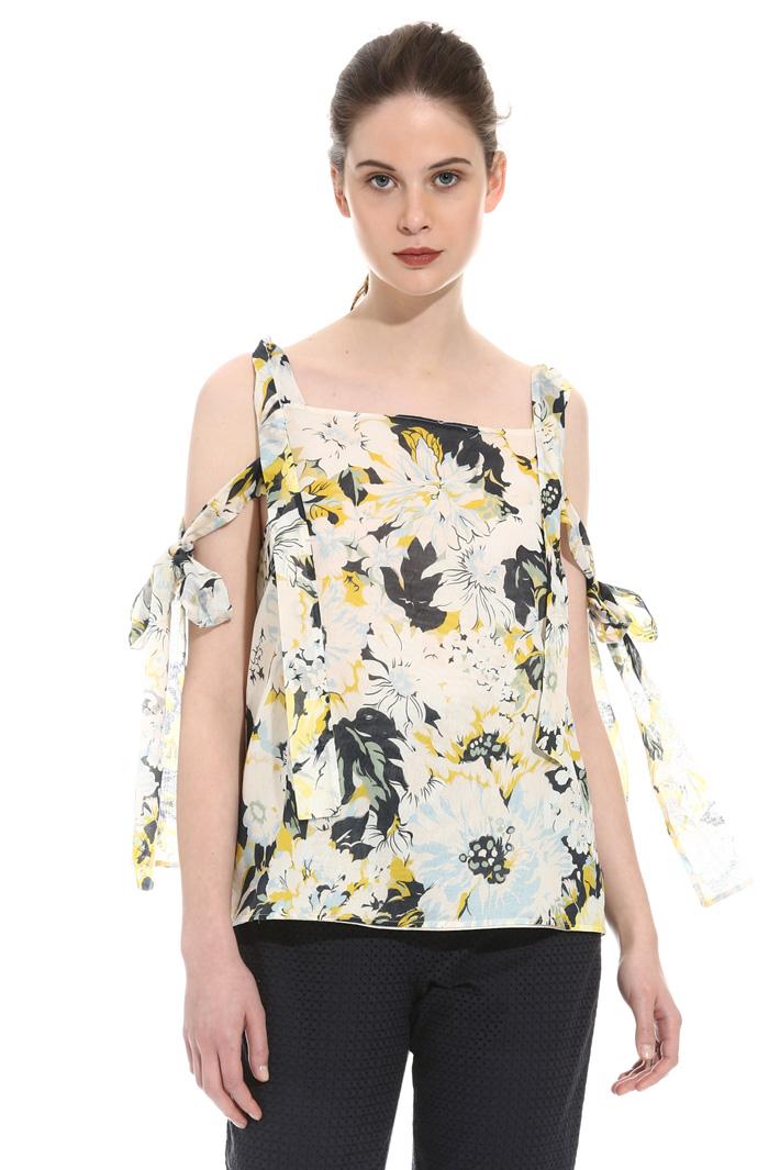 Top in voile stampato Fashion Market