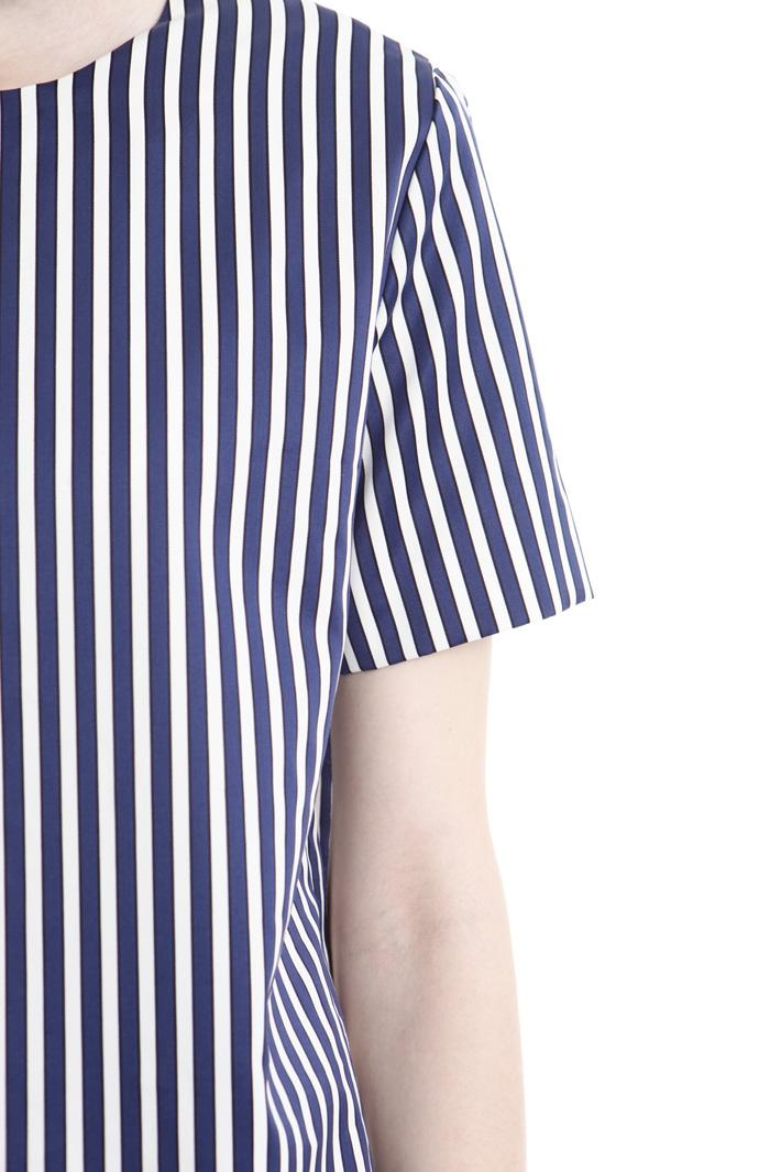 Top in raso di cotone Fashion Market