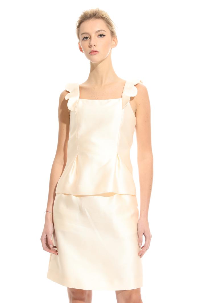 Top con spalline smerlate Fashion Market