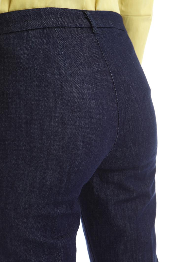 Pantalone a sigaretta in denim Fashion Market