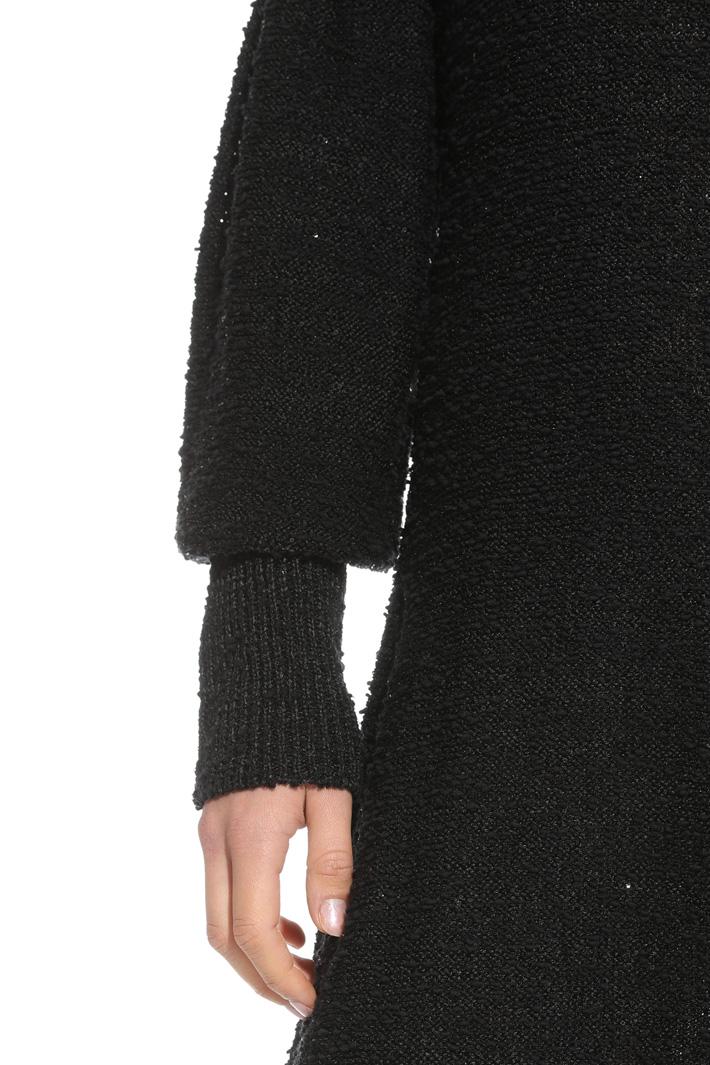 Abito in maglia con paillettes Fashion Market