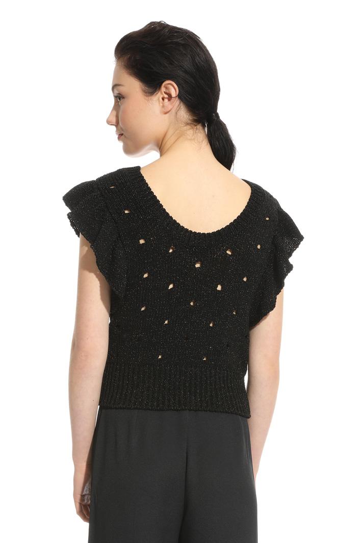 Top in maglia lamè Fashion Market