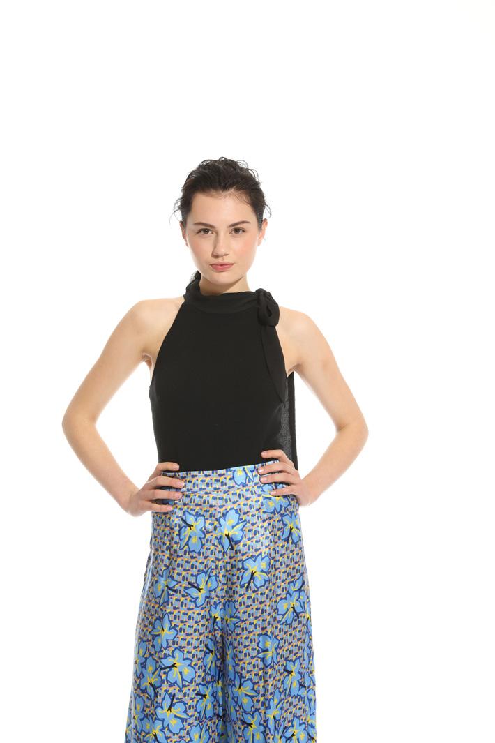 Top in maglia stretch Fashion Market