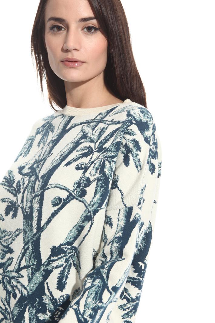 Maglia in viscosa jacquard Fashion Market