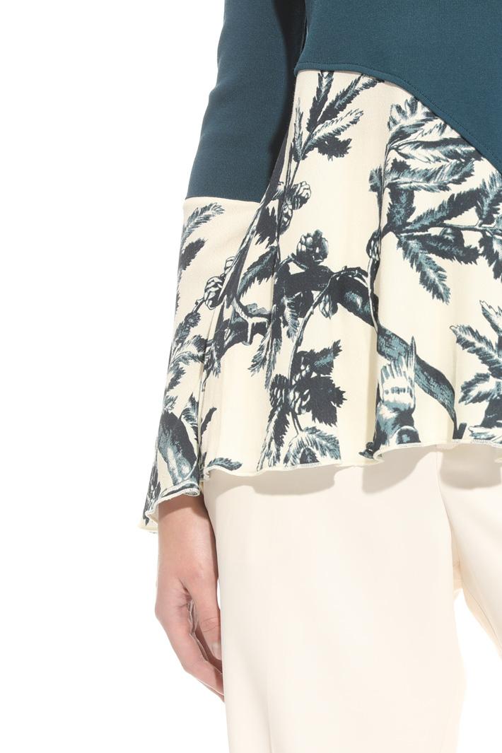 Maglia asimmetrica Fashion Market