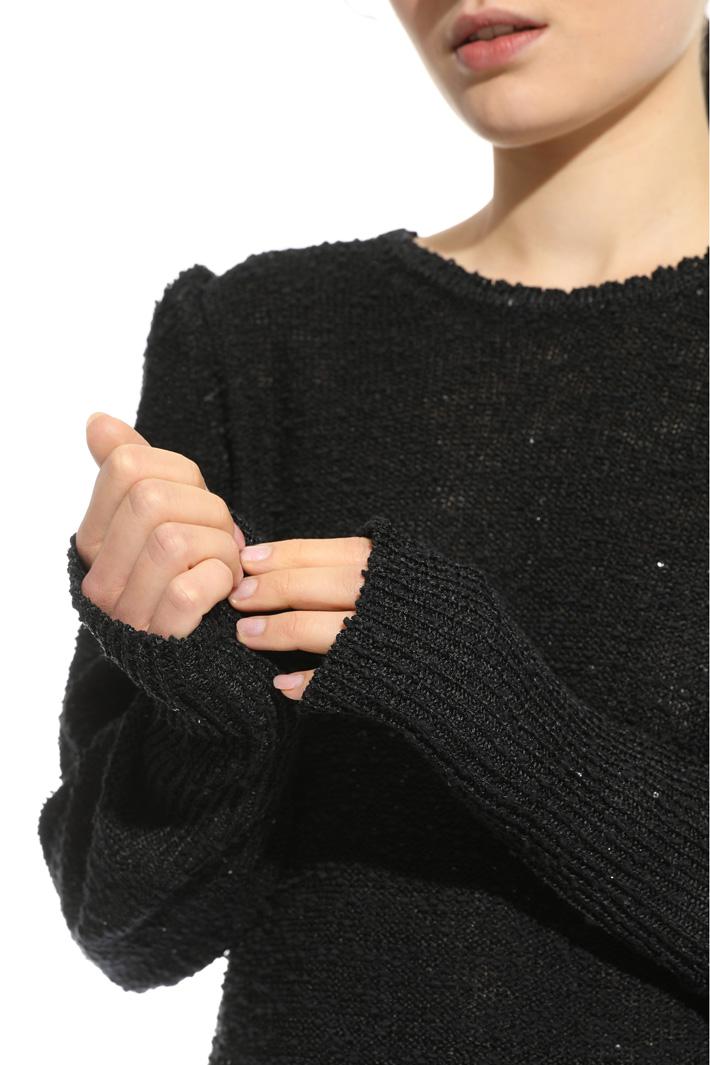 Maglia con micro paillettes Fashion Market