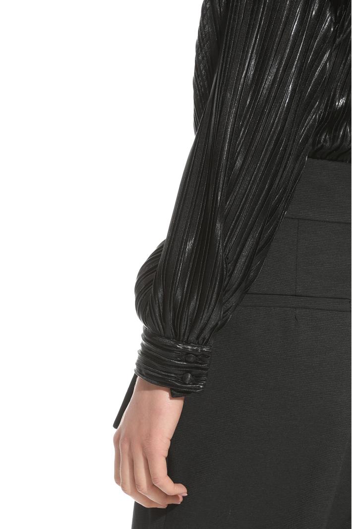 Body in jersey plissé laminato Fashion Market