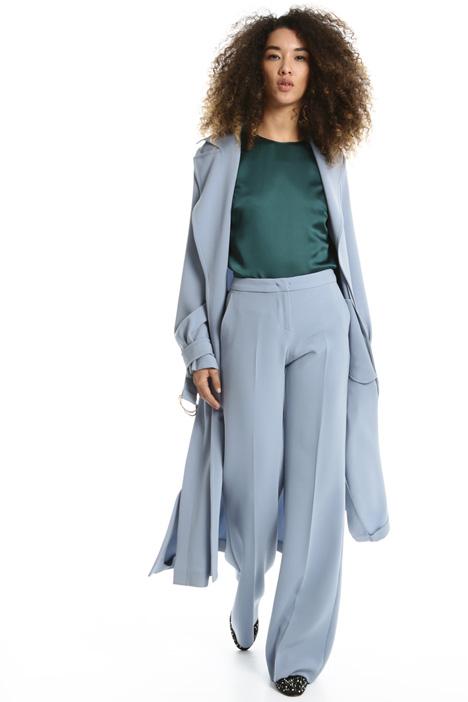 Trench in tessuto fluido Fashion Market