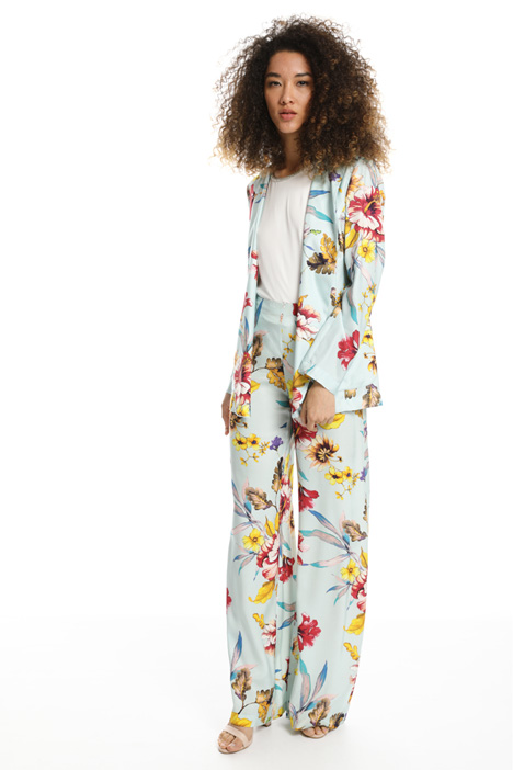 Giacca destrutturata in twill Fashion Market