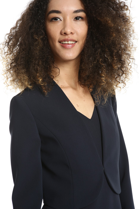 Giacca bolero in triacetato Fashion Market