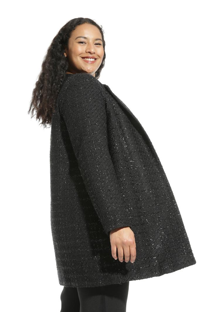 Cappotto in stuoia lurex Fashion Market
