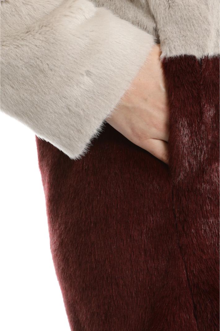Giaccone effetto pelliccia Fashion Market