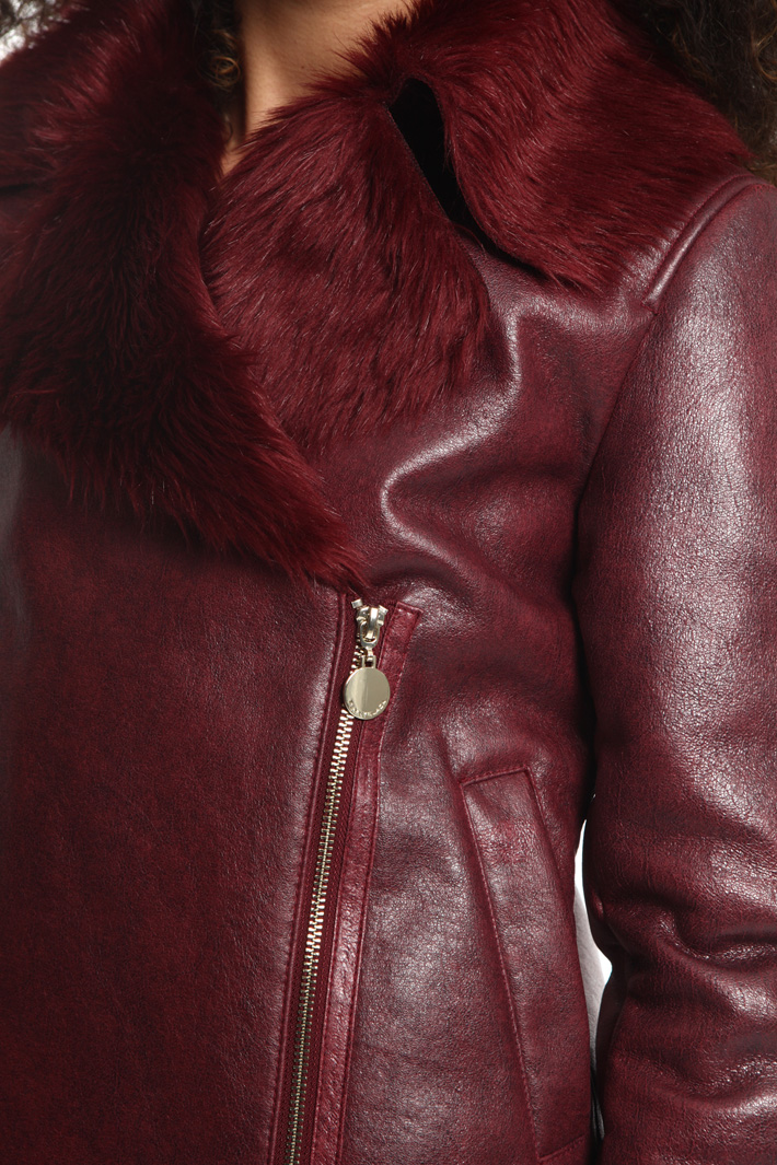 Giacca effetto laminato Fashion Market
