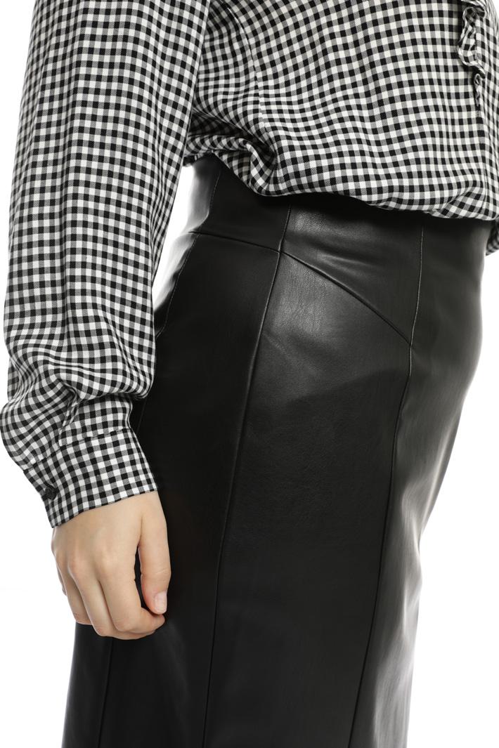 Longuette in tessuto spalmato Fashion Market