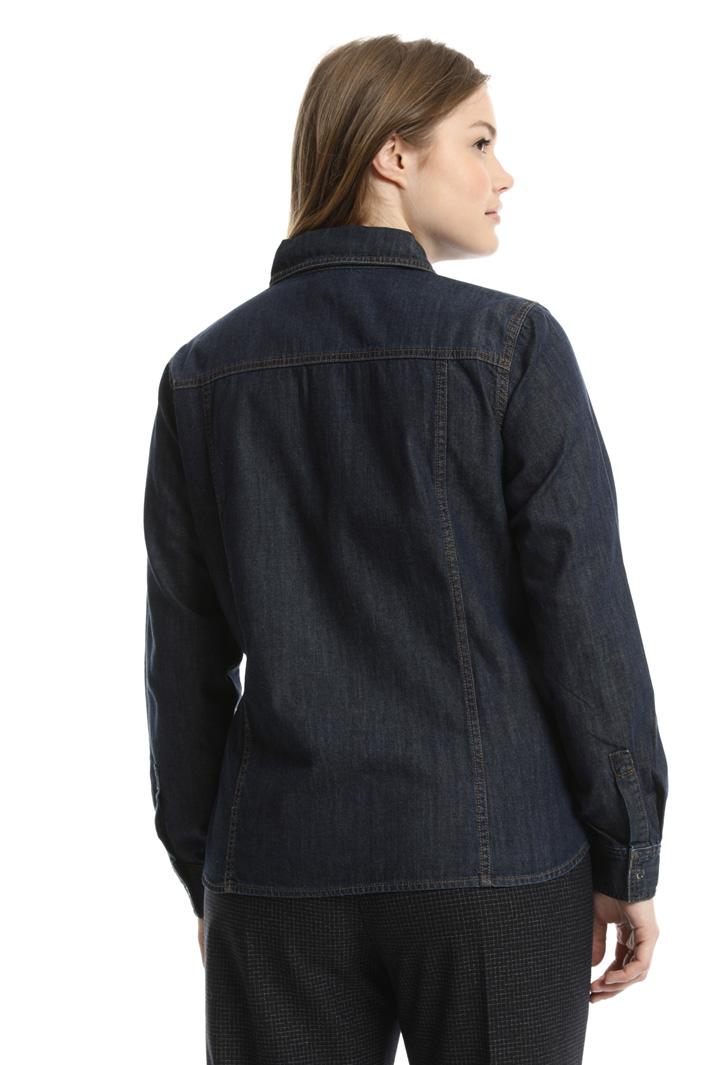 Camicia in denim leggero Fashion Market