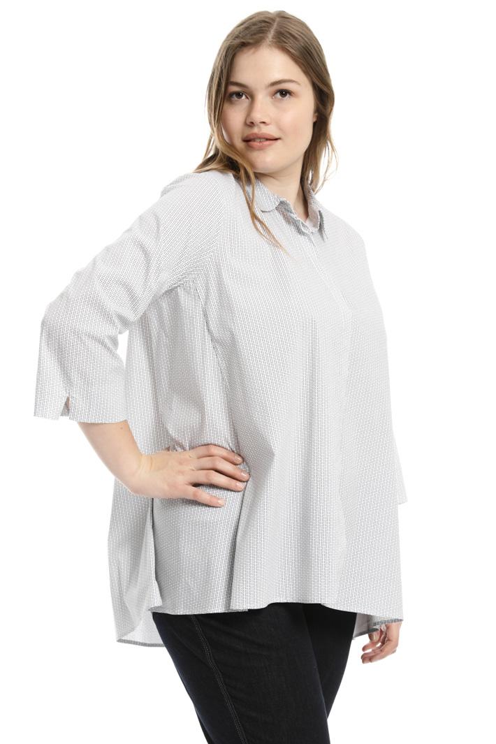 Camicia svasata in cotone  Fashion Market