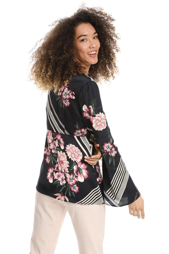 Blusa con maniche ampie Fashion Market