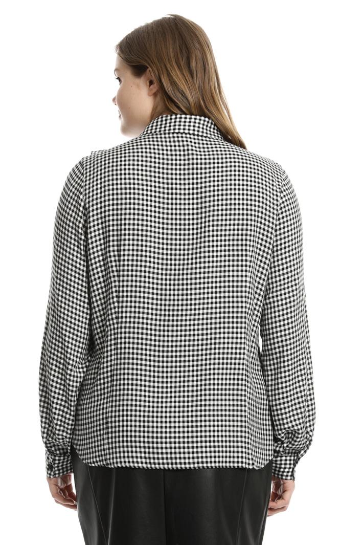 Camicia in viscosa a quadri Fashion Market