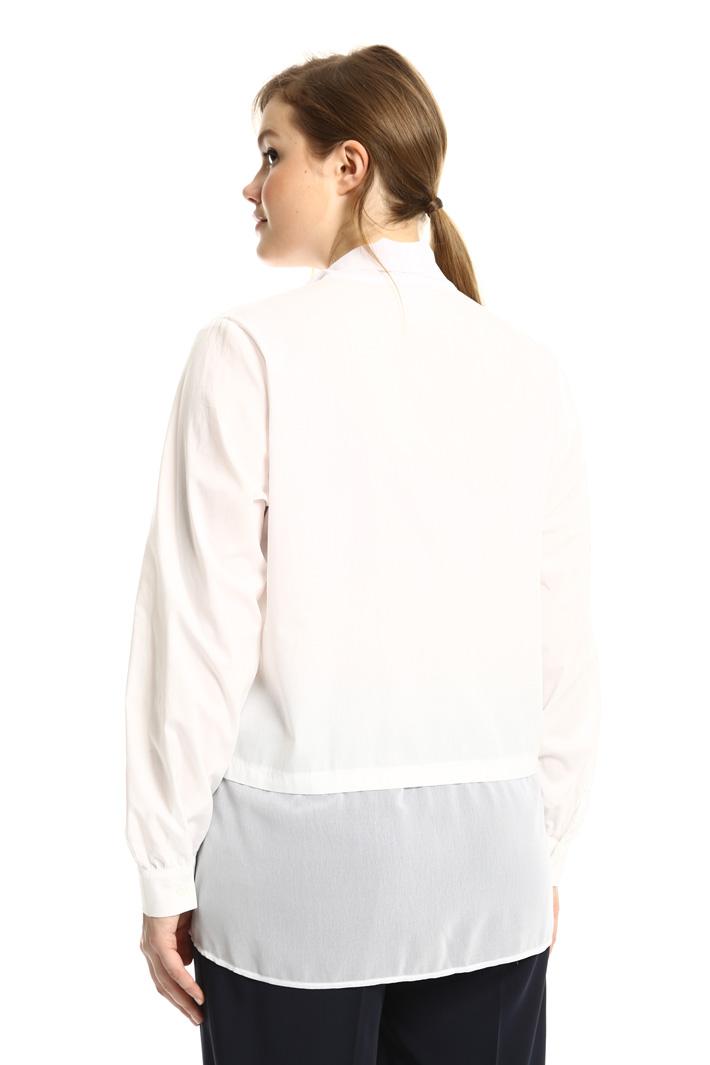 Camicia con collo a sciarpa Fashion Market