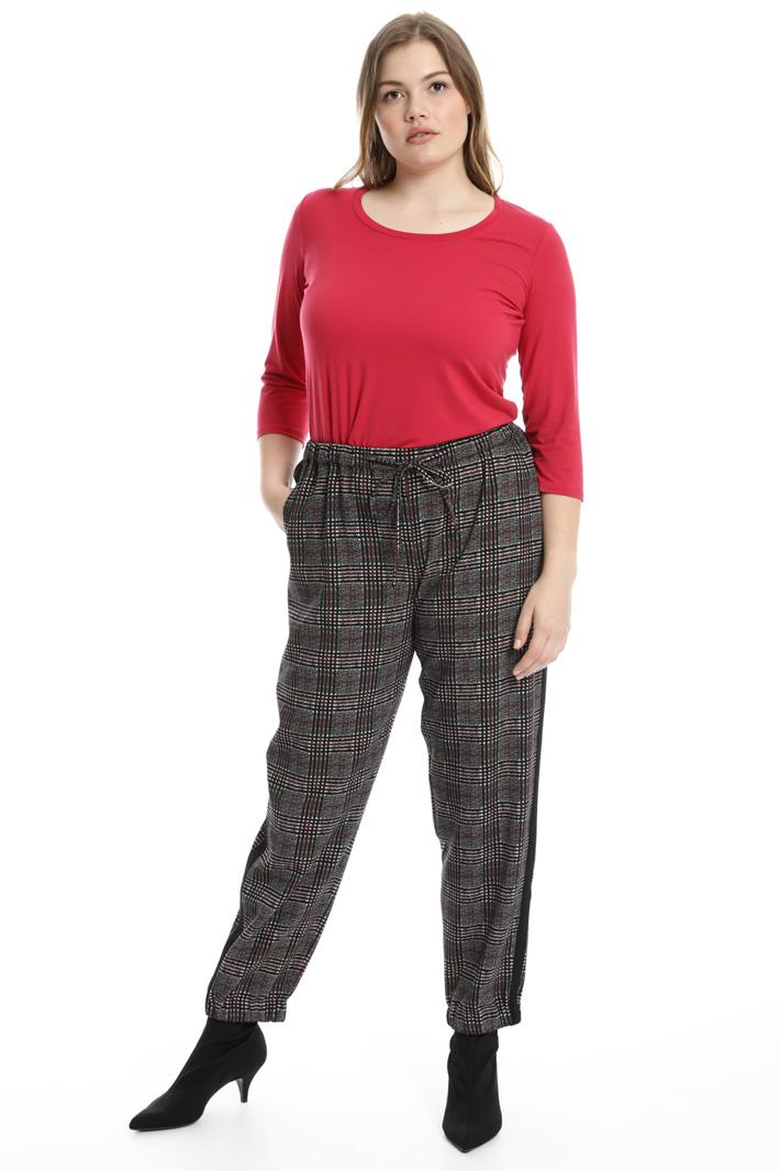 Pantaloni jogging stampato Fashion Market