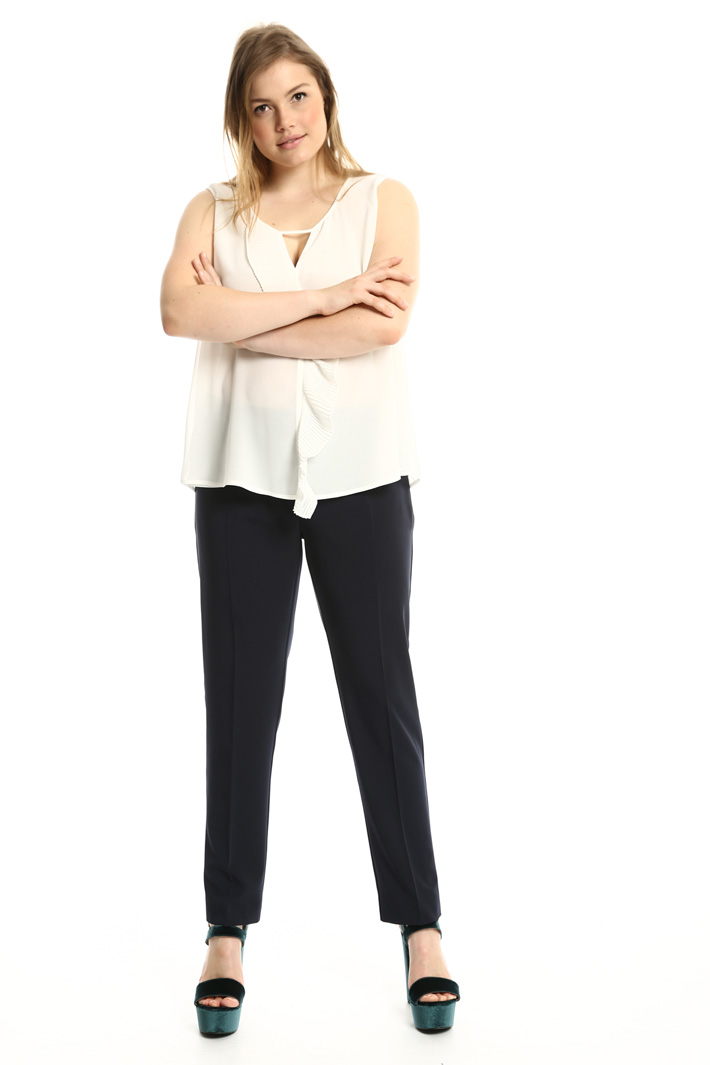 Pantaloni in tessuto tecnico Fashion Market
