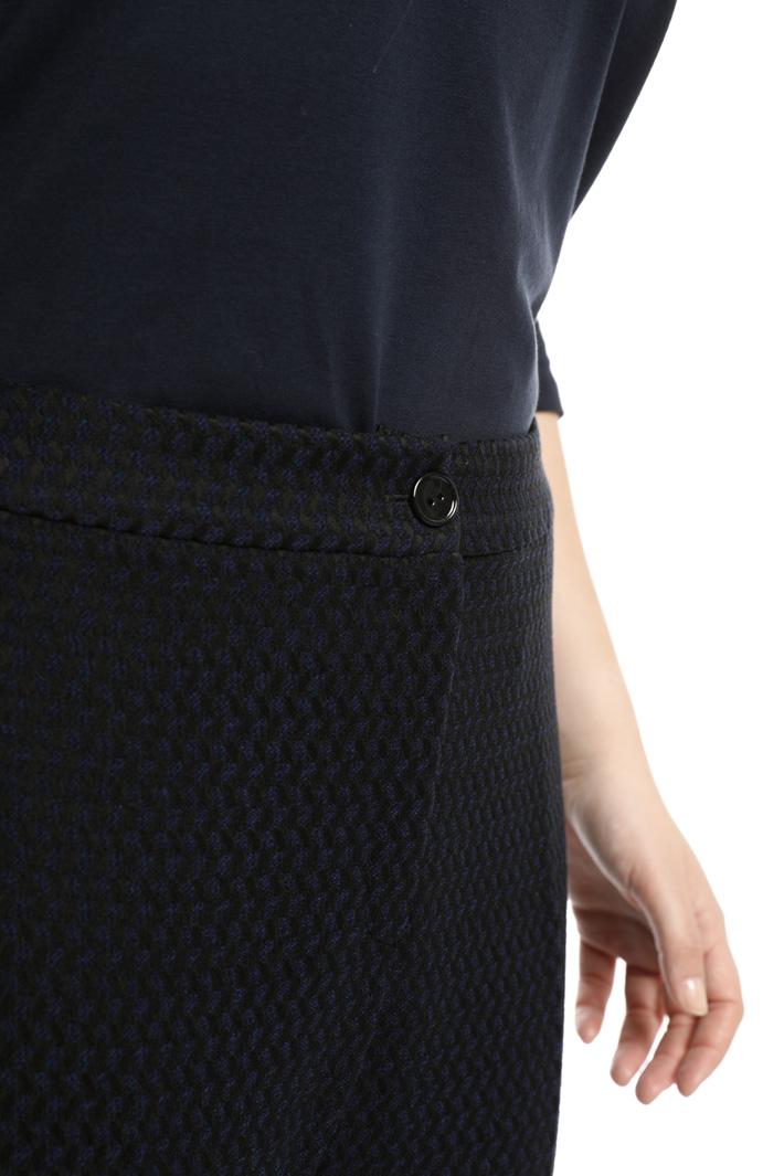 Pantalone jacquard a sigaretta Fashion Market
