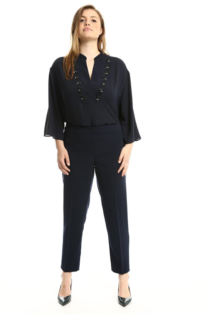 Pantaloni in tessuto fluido Fashion Market
