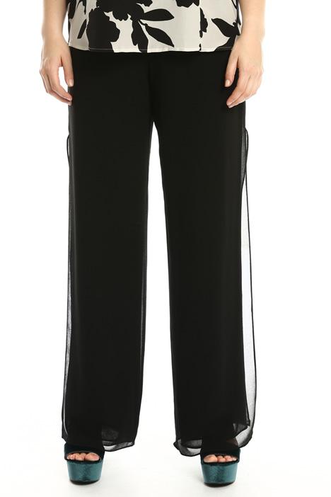 Pantalone fluido con spacchi Fashion Market