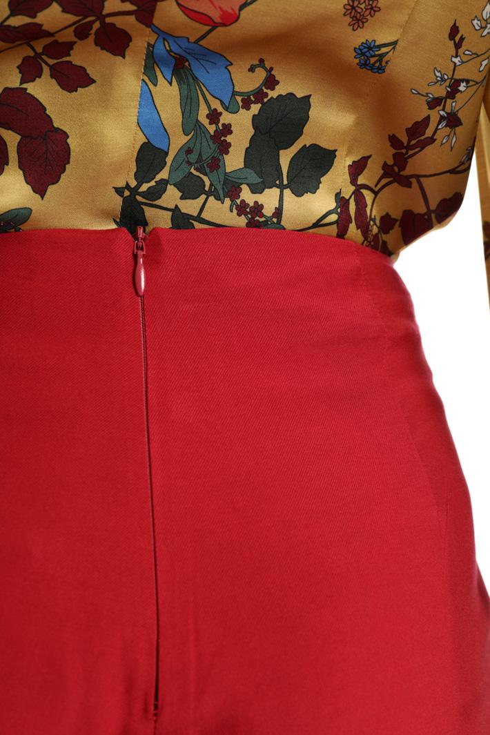 Pantalone ampio in twill Fashion Market