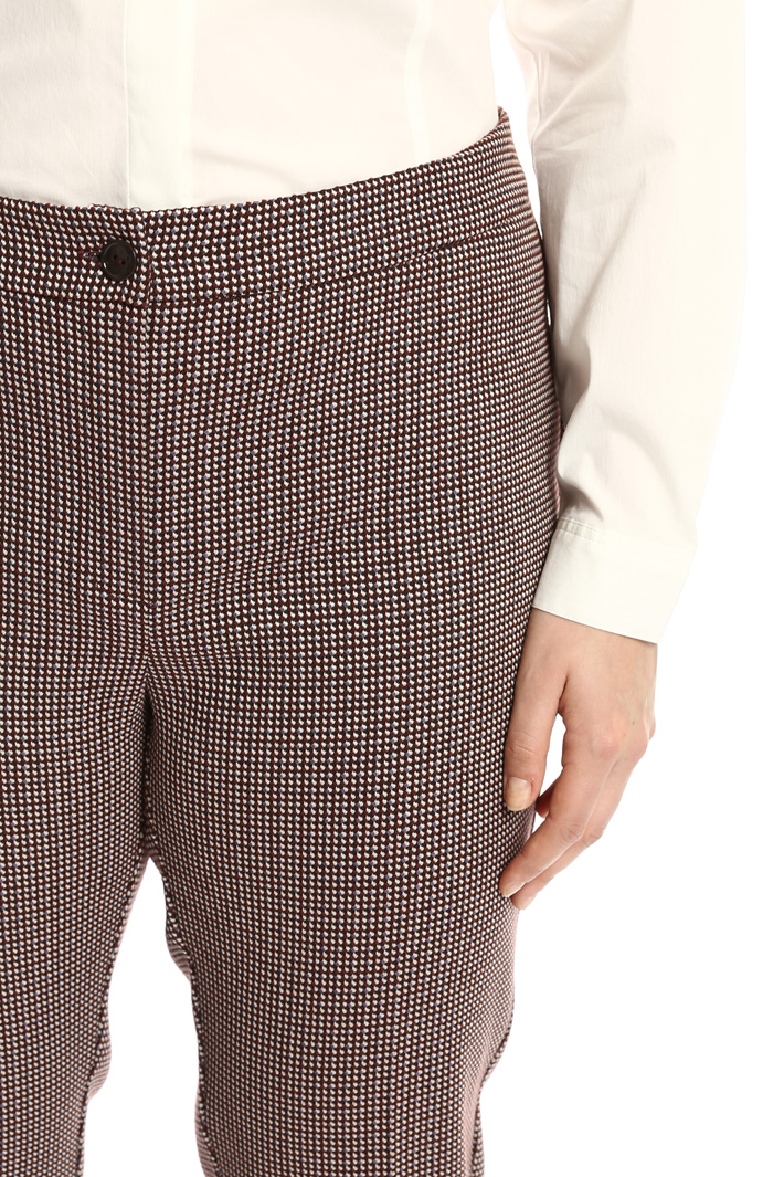 Pantaloni jacquard stretch Fashion Market